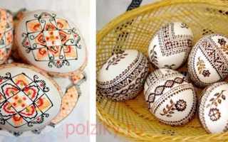 Материалы для росписи яиц из дерева