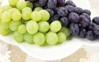 Виноград калорийность разных сортов