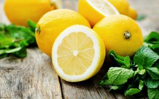 Витамины в лимоне какие есть польза лечебные свойства возможный