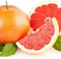 Белый грейпфрут описание фото польза
