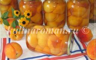 Консервированные персики целиком