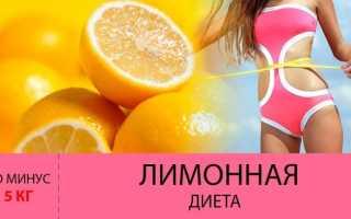 Лимонная диета 5 кг за 2 дня рецепт меню отзывы