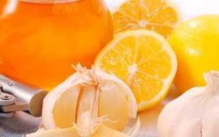 Рецепт от атеросклероза с чесноком и лимоном про холестерин