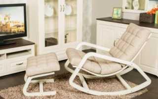 Как сделать самому кресло качалку из дерева